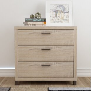 Edwidge 3 Drawer Chest by Turn on the Brights