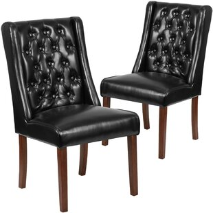 Charlton Home Orland Tufted Parsons Dining Chair (Set of 2)