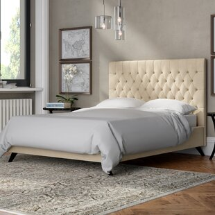 Middleville Upholstered Bed Frame By Rosalind Wheeler