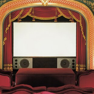 Cineperm White Fixed Frame Projection Screen
