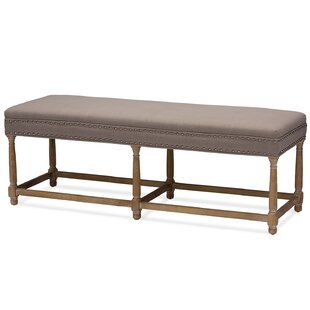 Aldreth Wood Bench by Gracie Oaks
