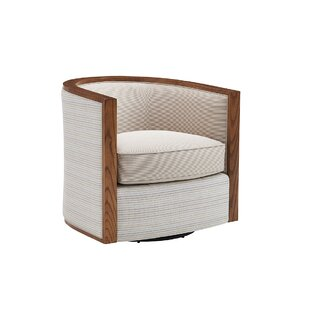 Kitano Swivel Barrel Chair by ..