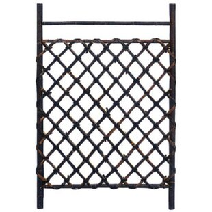 Oriental Furniture Japanese Wood Lattice Panel Trellis