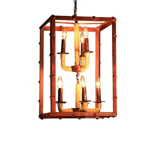 Warehouse of Tiffany Rivka 8-Light Square/Rectangle Chandelier