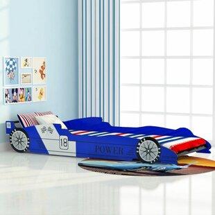 Chris Race Car European Single Bed Frame By Zoomie Kids