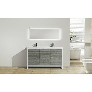 Melillo 59 Double Bathroom Vanity Set by Ivy Bronx