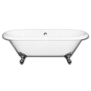 Vernon Clawfoot 70  x 31  Soaking BathtubClawfoot Tubs You ll Love   Wayfair. Clawfoot Baby Bath Tub. Home Design Ideas