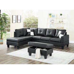 Kahoka Sectional Sofa With Ottoman