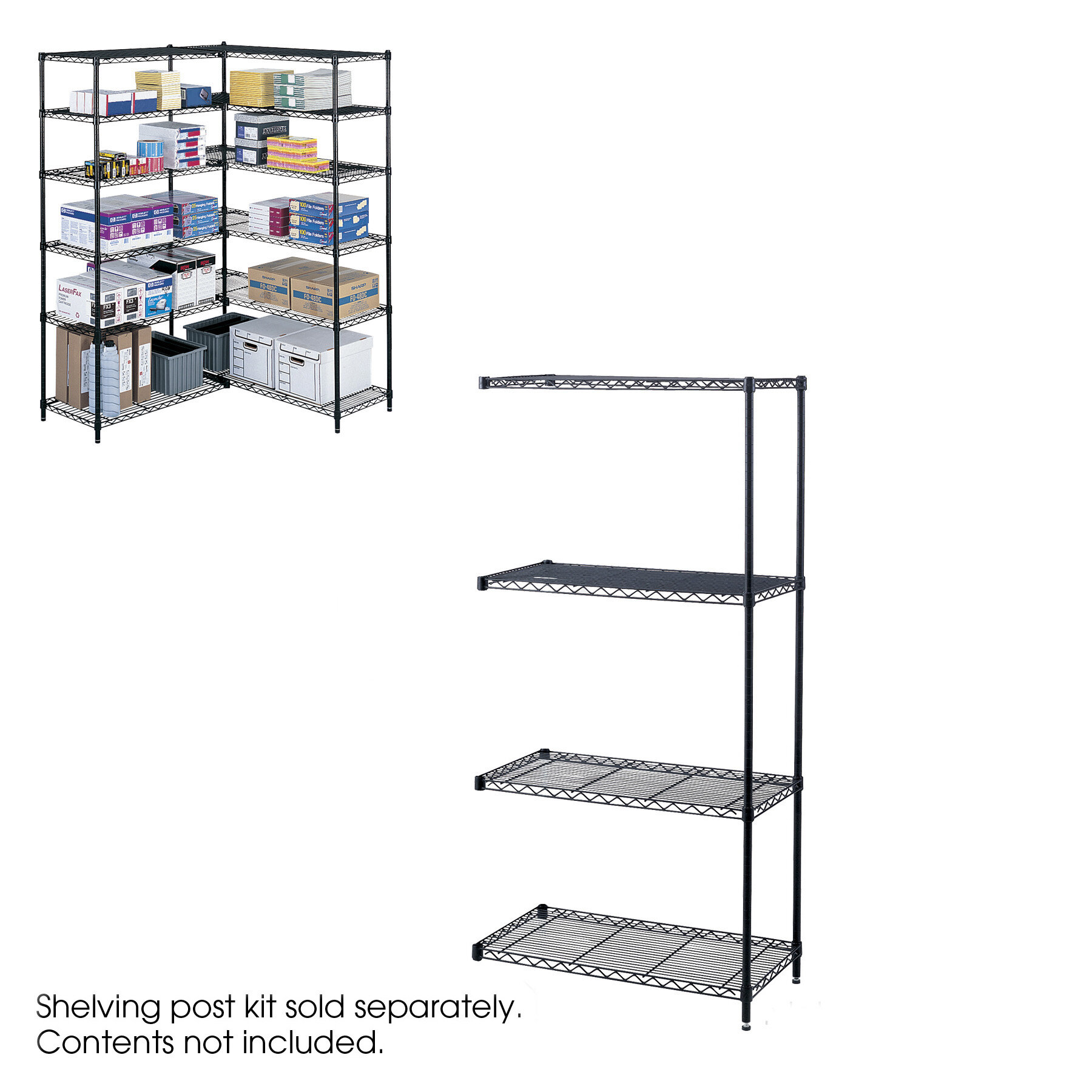 Ashleigh Wire Add On Unit 36 X 18 Shelves