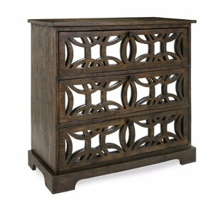 Gracie Oaks Pullen Country 3 Drawer Accent Chest