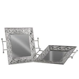 2 Piece Rectangular Tray Set
