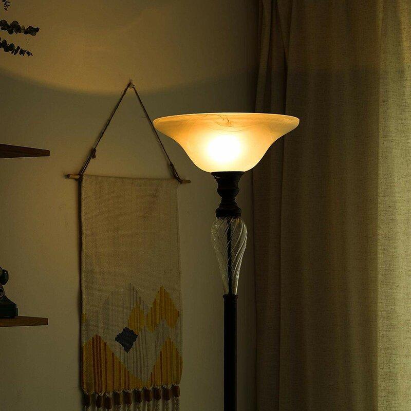Darby Home Co Mascarenas 72 Quot Torchiere Floor Lamp Wayfair Ca