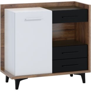 Reagan 3 Drawer Combi Chest By Ebern Designs