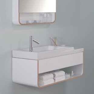 Unity 31 Wall-Mounted Single Bathroom Vanity Set By Ronbow