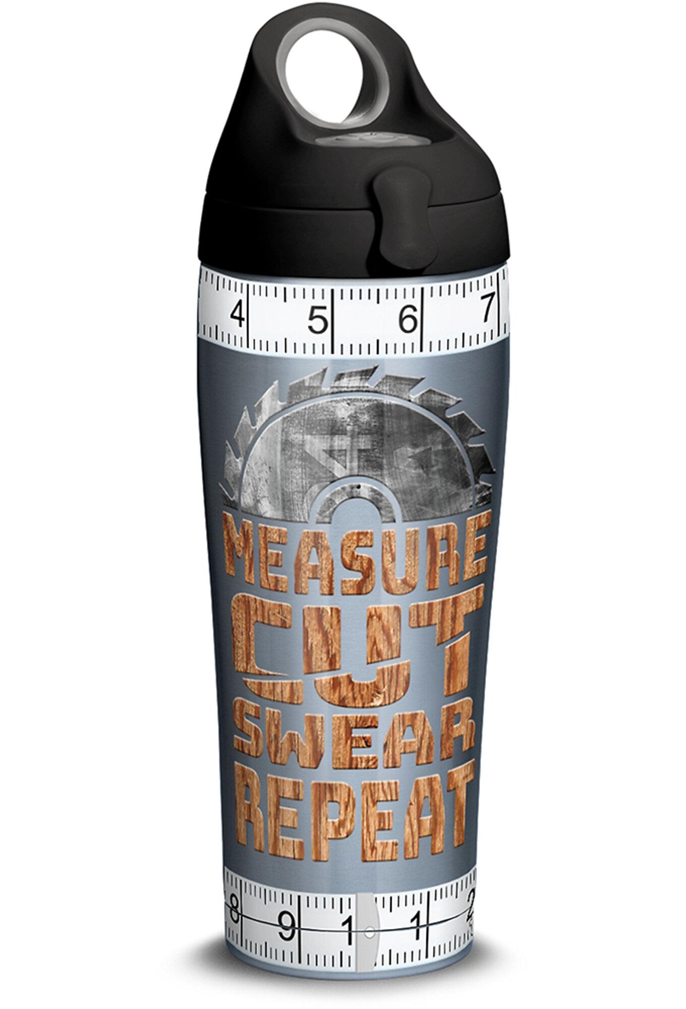 Tervis Tumbler Measure Cut Swear 24 Oz Stainless Steel Water Bottle Wayfair