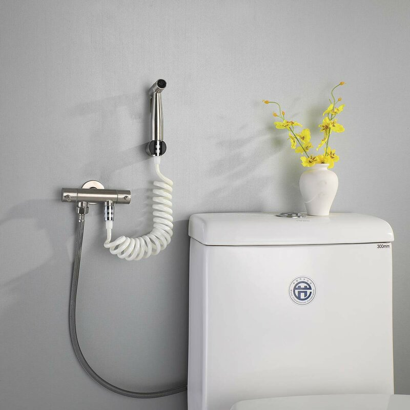 Watqen Toilet Bidet Sprayer Hose Wayfair