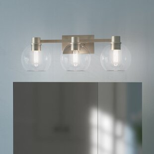 Latitude Run Hoover 3-Light Vanity Light