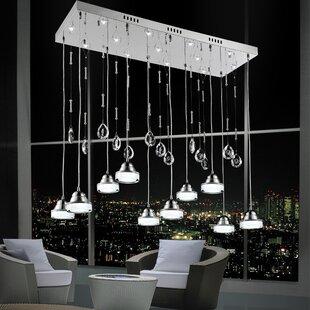 CWI Lighting Mariann 23-Light LED Pendant