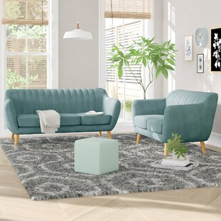 Order Villalba Sophisticated and Stylish 2 Piece Living Room Set by George Oliver Reviews (2019) & Buyer's Guide