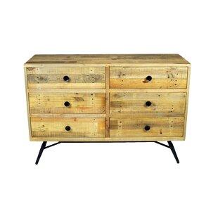 Ada 6 Drawer Double Dresser