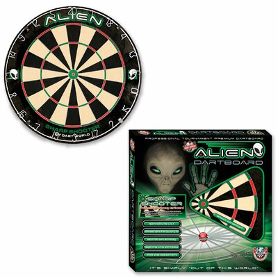 Dart World Alien Sharp Shooter Practise Dartboard