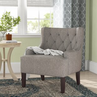 Reviews Barwood Wingback Chair By Three Posts