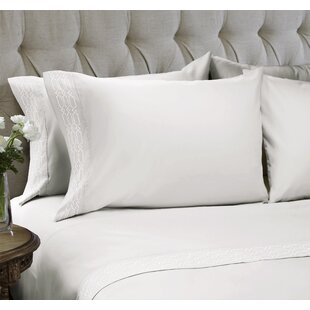 Linx Embroidered 4 Piece Sheet Set