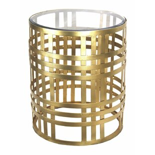 Gilded Cage End Table by DecorShore