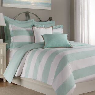 Chagnon 100% Cotton Reversible Duvet Cover Set