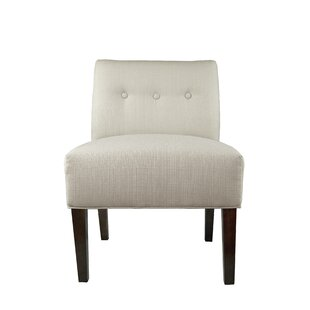 MJL Furniture Samantha Button Tufted Sachi Slipper chair