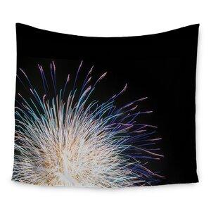 Firework by Jillian Audrey Wall Tapestry
