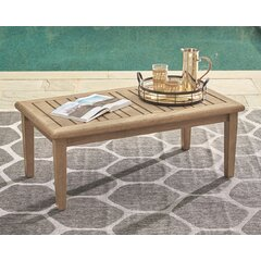 Coffee August Grove Patio Tables You Ll Love In 2021 Wayfair