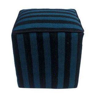 Rawlings Kilim Cube Ottoman by World Menagerie