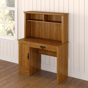 Englewood Computer Desk with Hutch by Alcott Hill