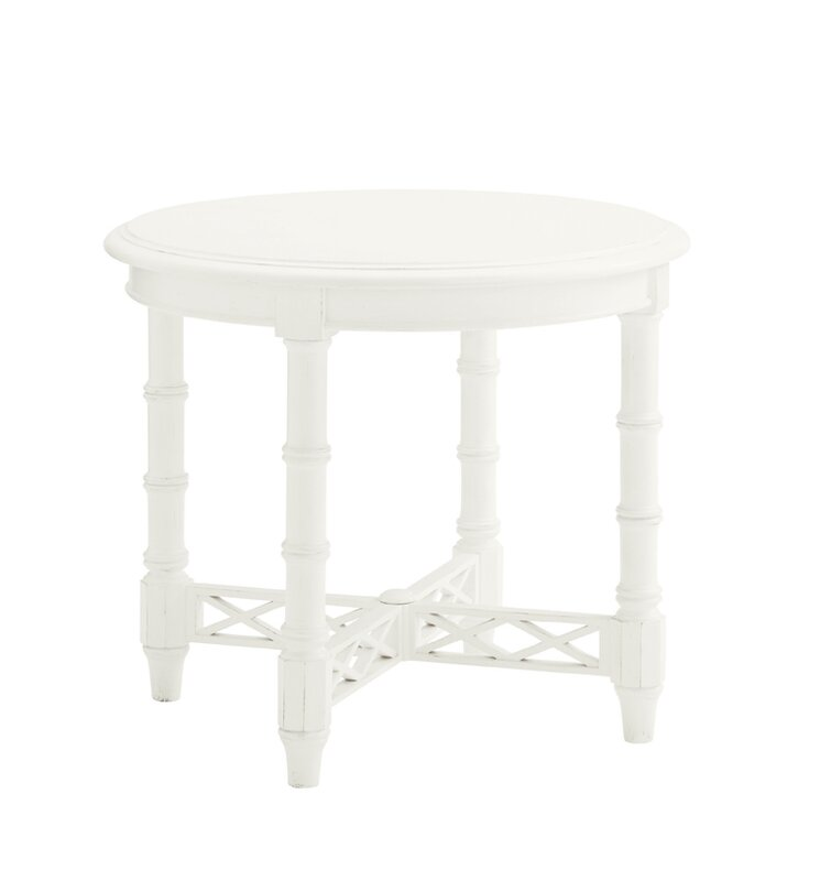 Perfect Ivory Key End Table