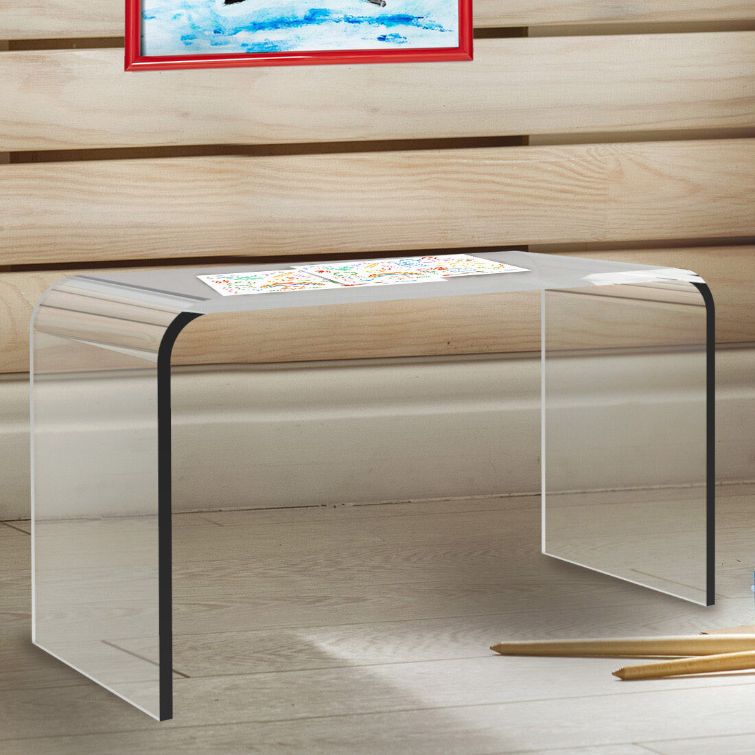 online store 00dc6 12e2a Rudisill Acrylic End Table