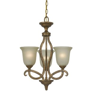 Deena 3-Light Shaded Chandelier by Darby Home Co