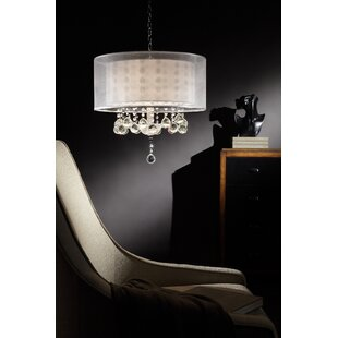 OK Lighting Moiselle 3-Light Chandelier