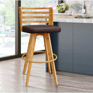 Westover 38 Swivel Bar Stool by Brayden Studio