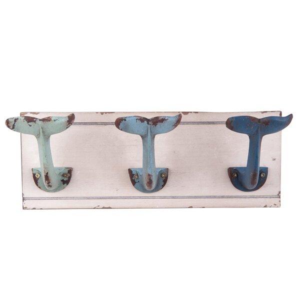 "Blue Seahorse Wall Hook Decorative Coat Towel Hanger Decor Nautical 5.25/"" Tall"