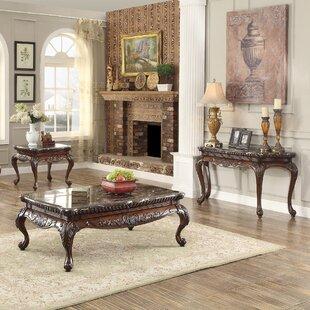 Astoria Grand Murray 3 Piece Coffee Table Set