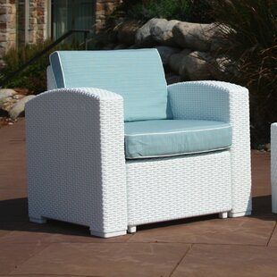 Brayden Studio Loggins Patio Chair with C..