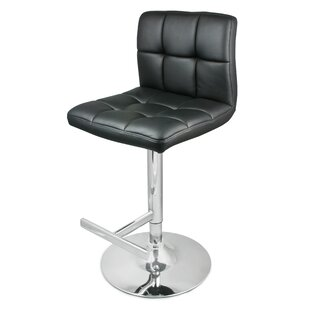Batson Swivel Adjustable Bar Stool By Metro Lane