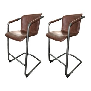 Price Check Bruggeman 30 Bar Stool (Set of 2) by Union Rustic Reviews (2019) & Buyer's Guide