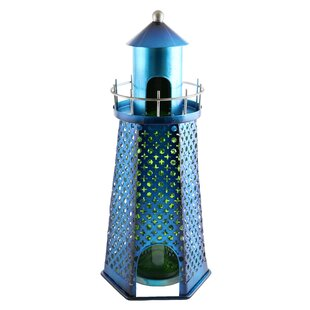 Felecia Lighthouse 1 Bottle Tabletop Wine..