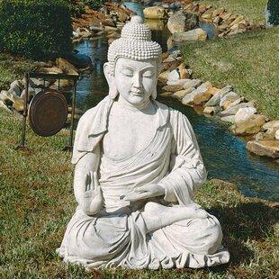 Design Toscano Giant Meditative Buddha of the Grand Temple Garden Statue