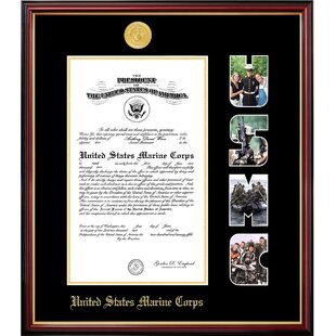 Marine Certificate Petite Picture Frame By Patriot Frames