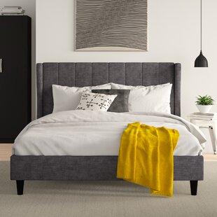 Review Lilli Upholstered Bed Frame