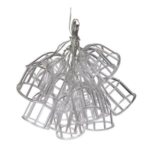 A&B Home LED 15 Light Lantern String Lights