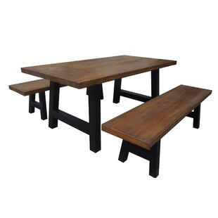Dede 3 Piece Dining Set